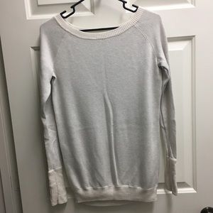 Lululemon scoop neck sweater, size 4